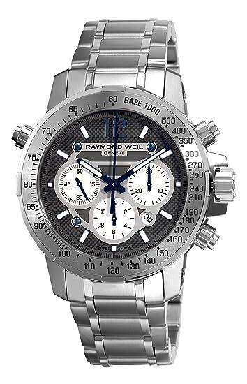 Raymond Weil 7800-TI-05607 - Reloj de automático para Hombre, con Correa de Acero Inoxidable, Color Plateado: Raymond Weil: Amazon.es: Relojes