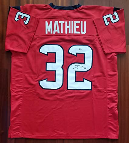 online retailer 97398 c89c3 Tyrann Mathieu Autographed Signed Jersey Houston Texans ...