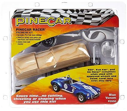 Boy Scouts Racing BSA Hot Rod Model Kit Hot Rod Racers Pinewood Derby Car