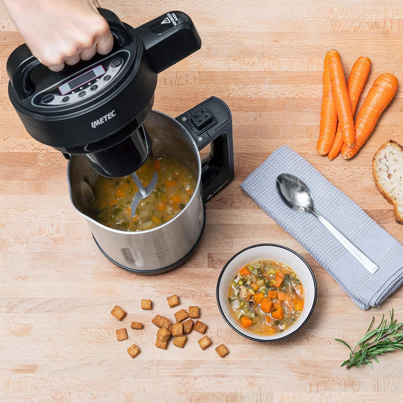 Imetec SM 1000 Soup Maker, Cocina y batidora, 3 programas ...