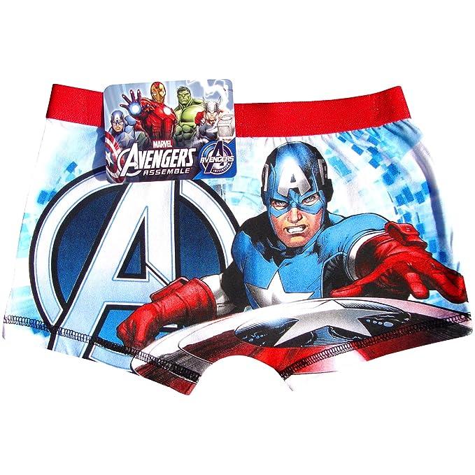 De Niño Marvel Avengers Superhéroes Bóxers - algodón, Multicolor, 5% elastano 95%