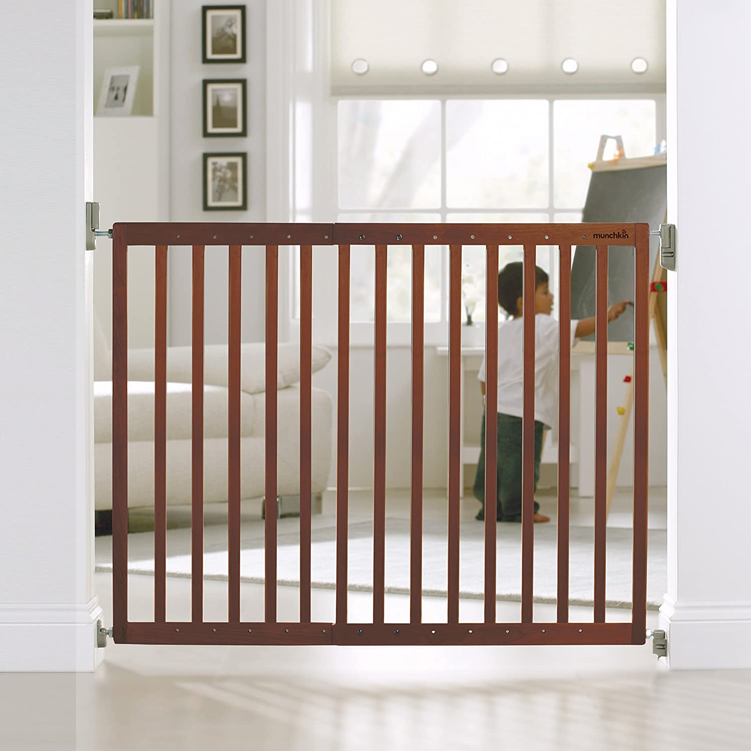 Amazon Munchkin Push To Close Hardware Baby Gate Extends 28