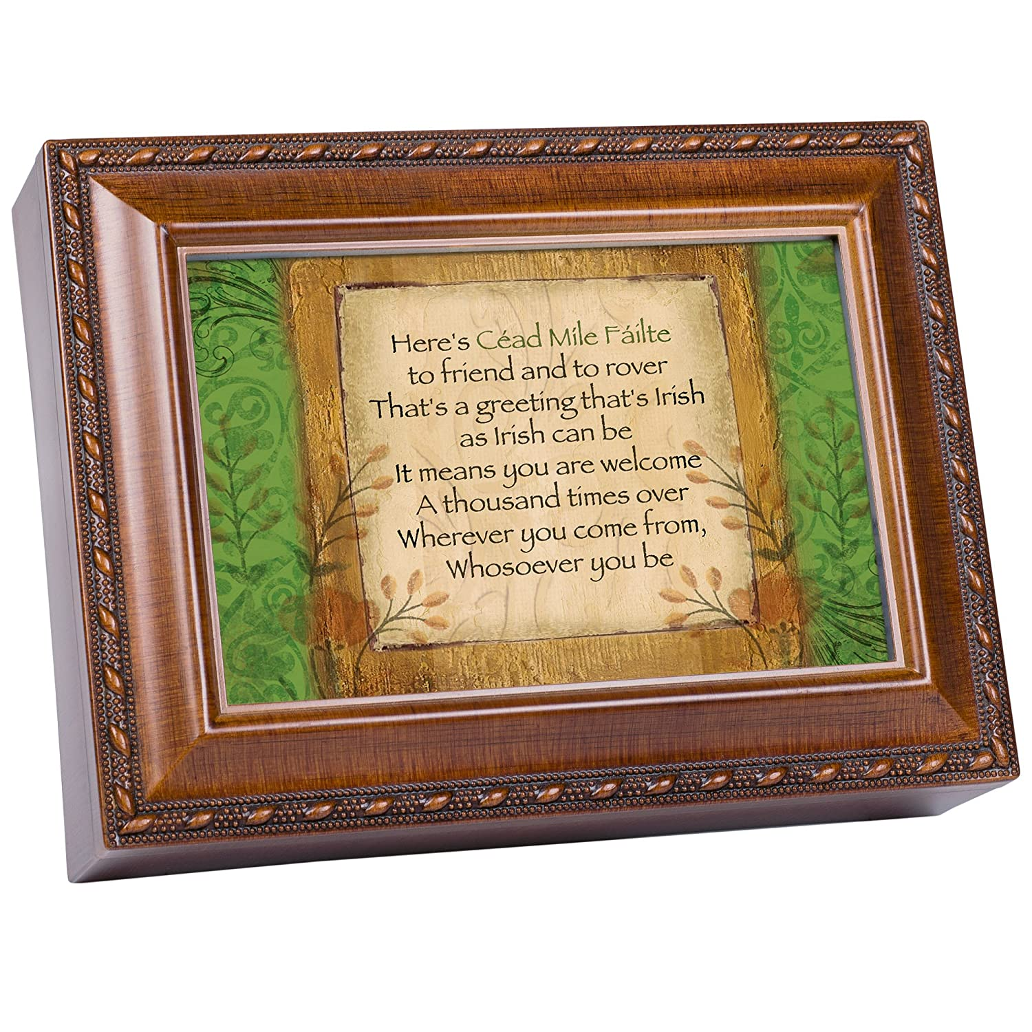 驚きの値段 Irish Greeting Cottage Garden Cottage Woodgrain Traditional Music Box B007P7Z1VO Plays Garden Irish Eyes B007P7Z1VO, 住マイル:40cb166d --- arcego.dominiotemporario.com
