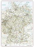 XXXL Deutschlandkarte (K704) 140 x 100cm, Lieferung gerollt!