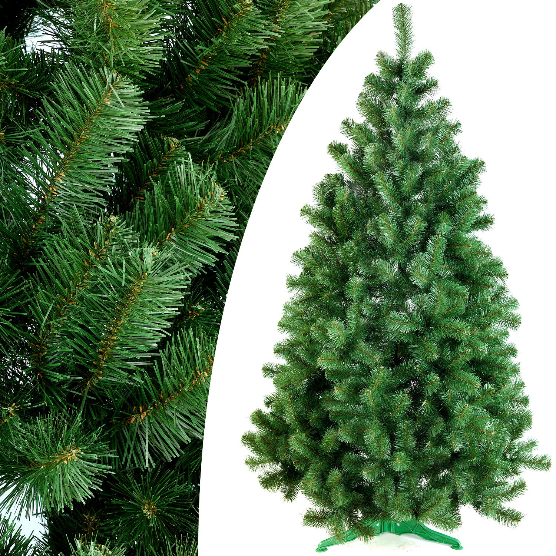 DecoKing 52518 180 cm Künstlicher Weihnachtsbaum Tannenbaum Christbaum grün Tanne Lena Weihnachtsdeko B00OLZ88KE Künstliche Weihnachtsbume