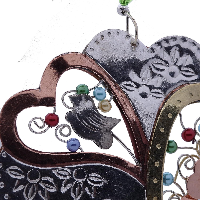 Árbol de la vida bronce níquel y cobre para colgar, diseño jardín maceta hecho a mano en caja de regalo: Amazon.es: Hogar