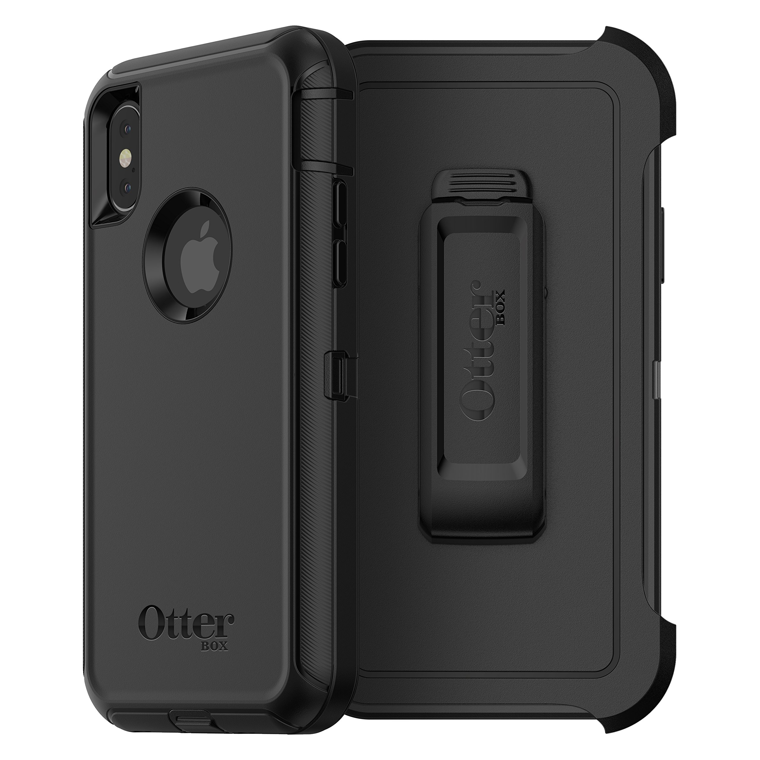 OtterBox DEFENDER SERIES Case for iPhone X (ONLY) - BLACK