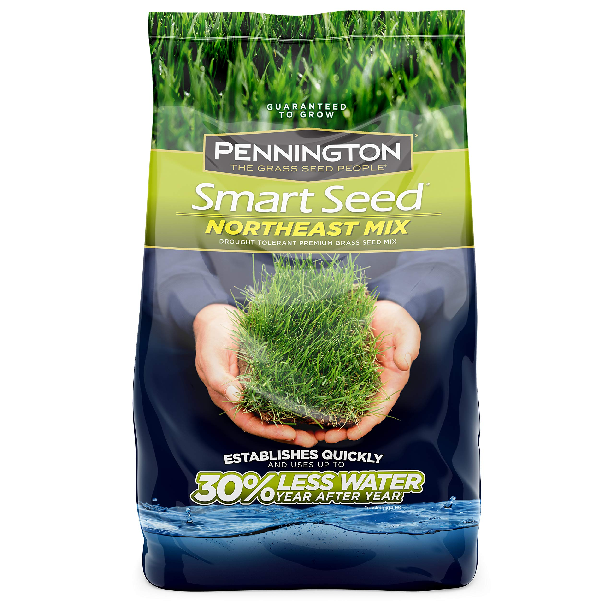 Pennington 100526638 Smart Seed Northeast Mix Grass Seed, 7 LB