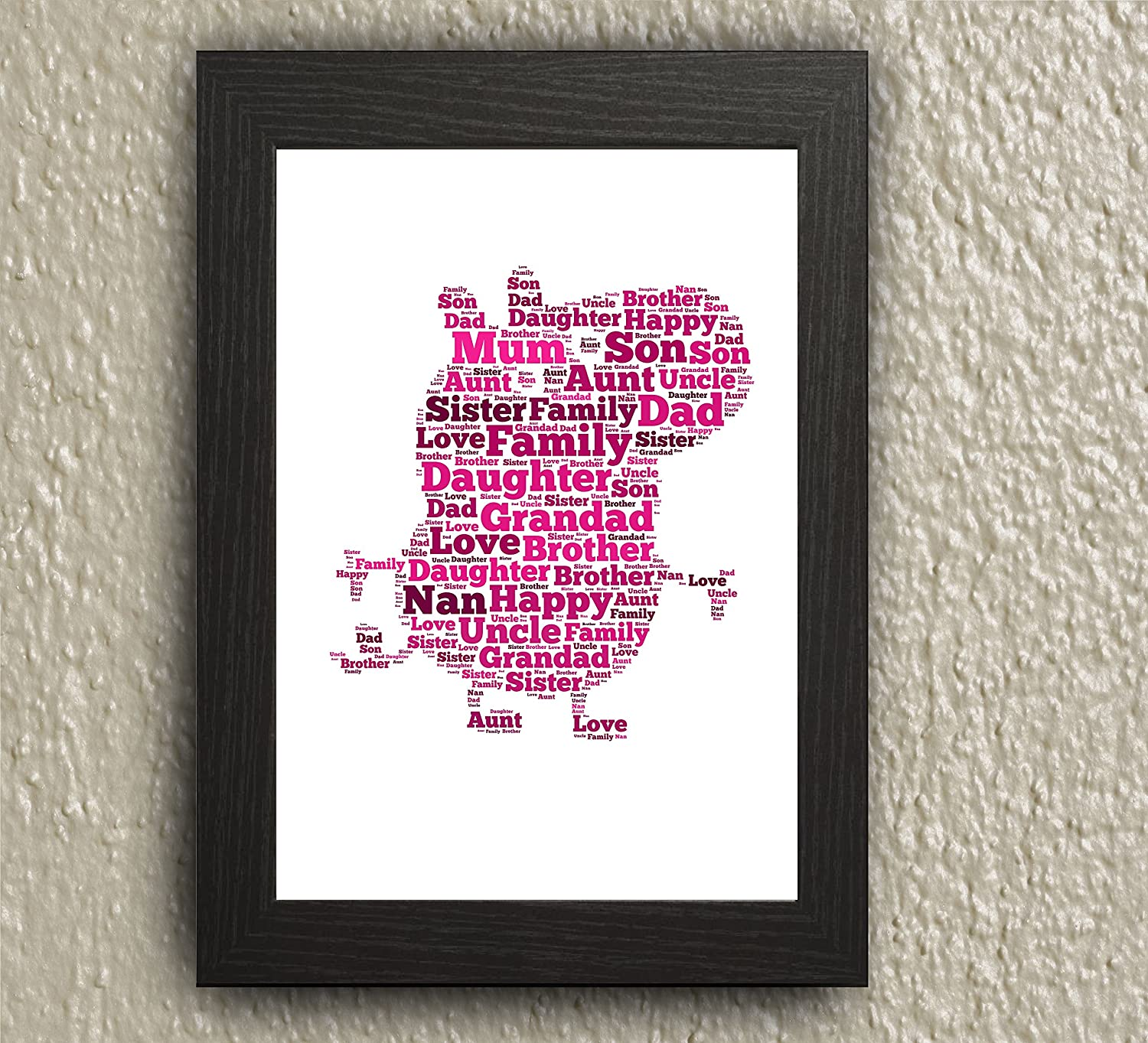 Pig Word Art gift picture