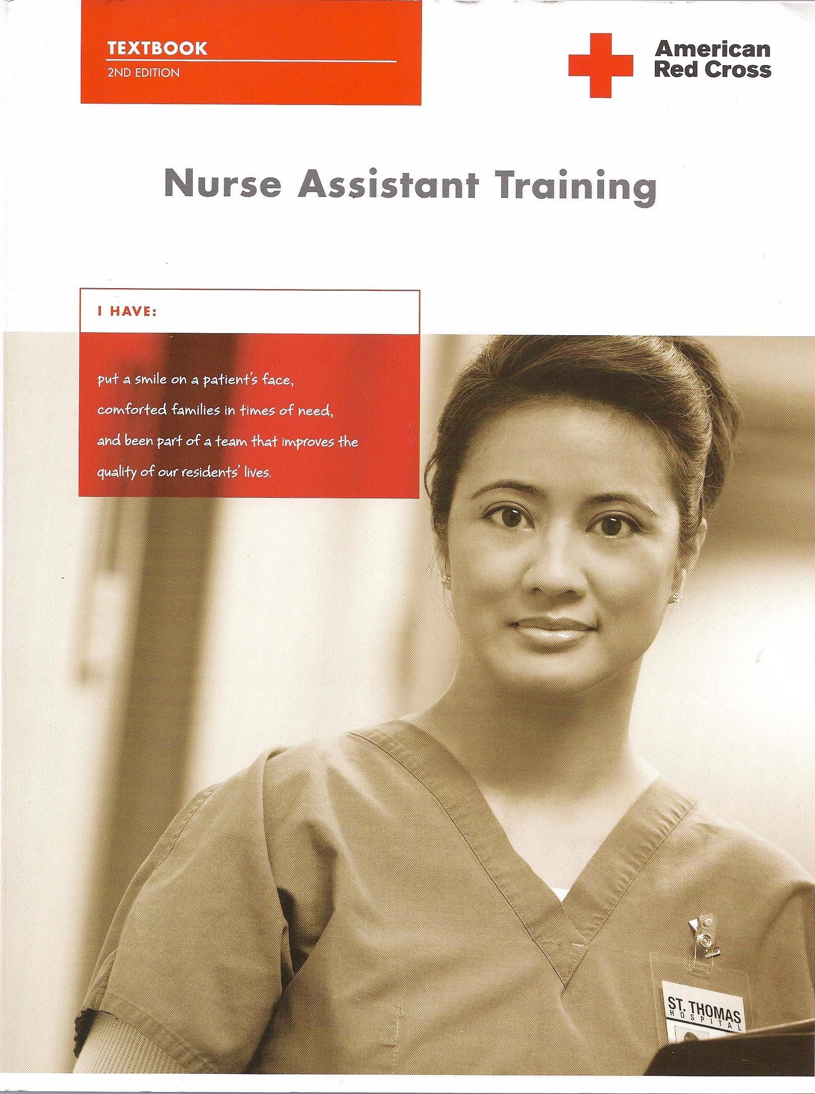 Nurse Assistant Training American Red Cross 9781584804147 Amazon