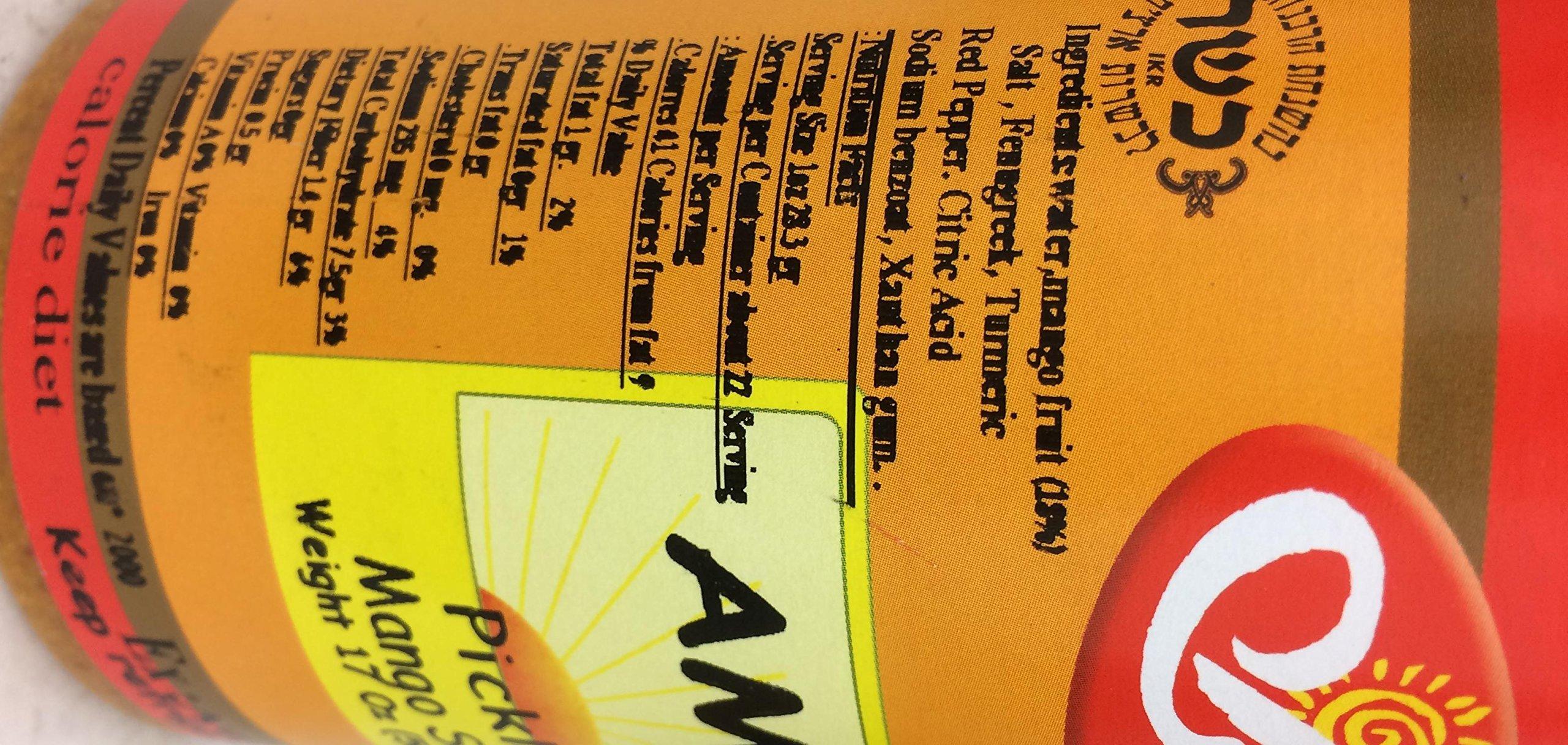 Amba Pickled Mango Sauce 17 Oz. Pk Of 3. by Amba (Image #3)
