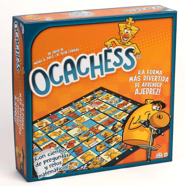 Ocachess - Juego de Mesa para Aprender AJEDREZ, Novedad La Forma ...