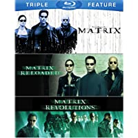 Matrix / Matrix Reloaded / Matrix Revolutions  [Blu-ray] [Importado]