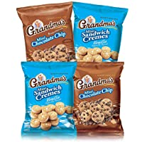 Grandma's Mini Cookies, 2 Flavor Variety Pack of 30