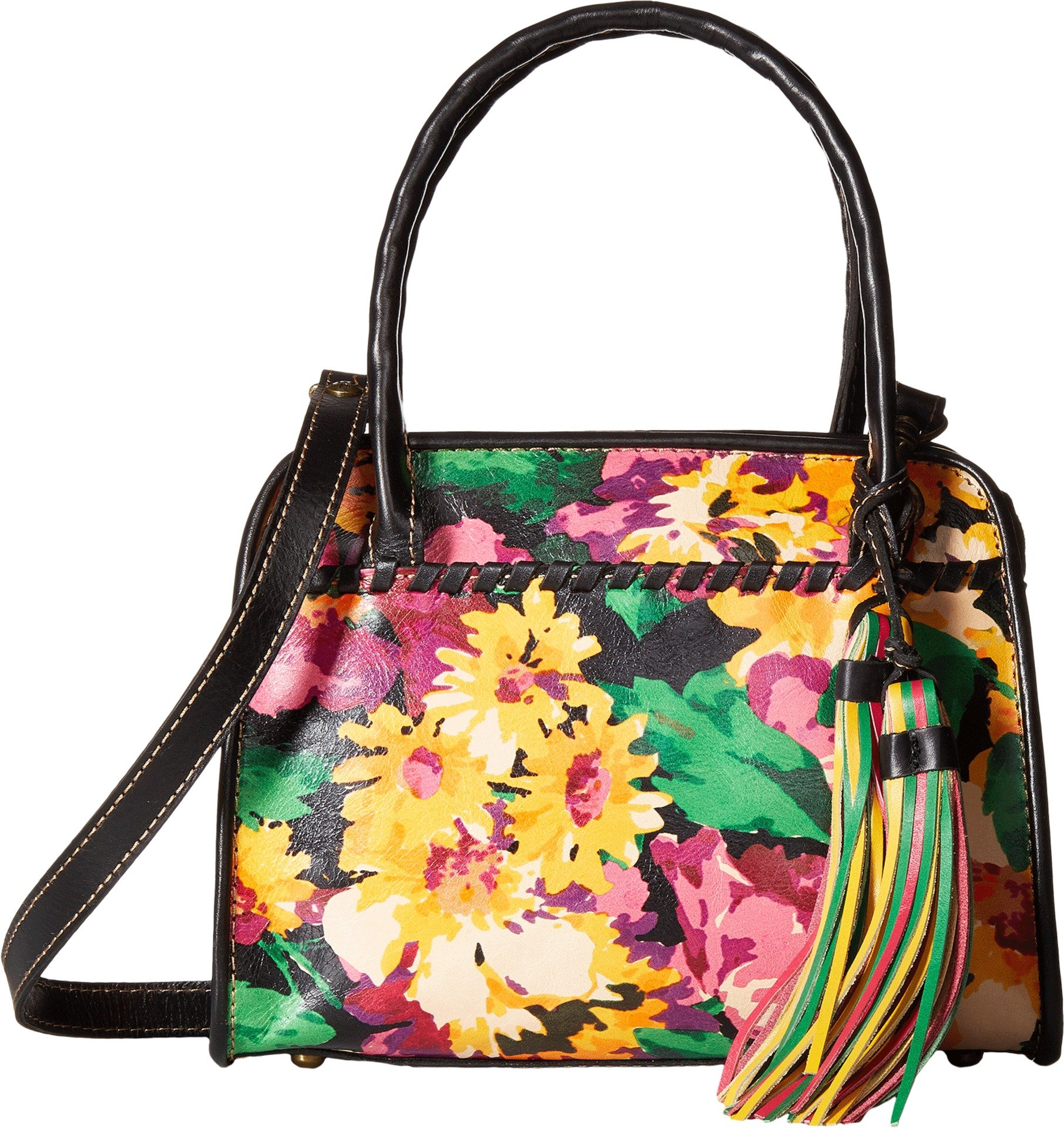 Patricia Nash Women's Paris Satchel Summer Evening Bloom Handbag