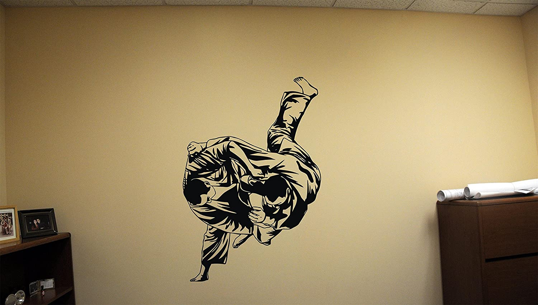 Amazon.com: Kimono Cool Murals Taekwondo Vinyl Fu Fighters Decals ...