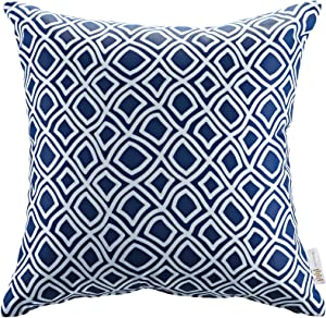 Modway Outdoor Indoor All Weather Patio Throw Pillow in Balance