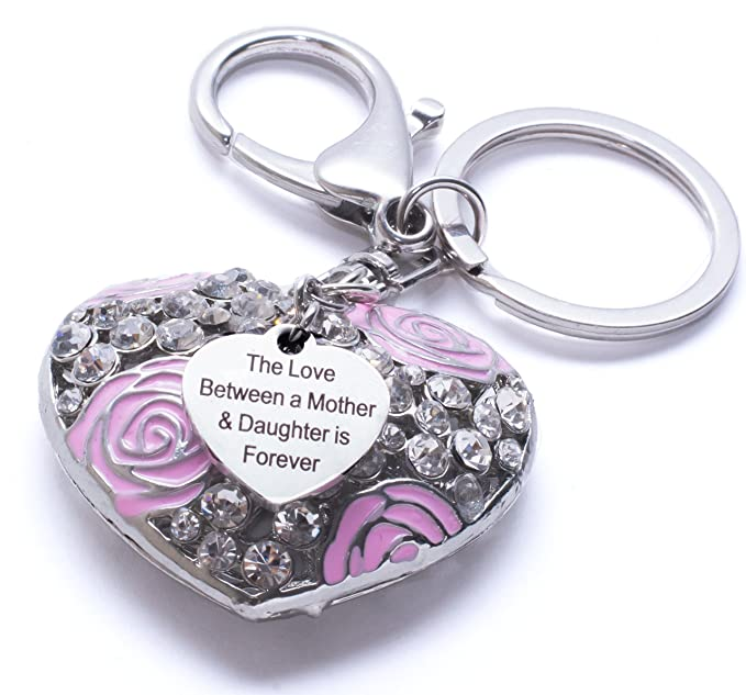 Mom Keychain From Daughter And Son - Gifts For Mom - Ideal Mothers Day Gifts Under 20