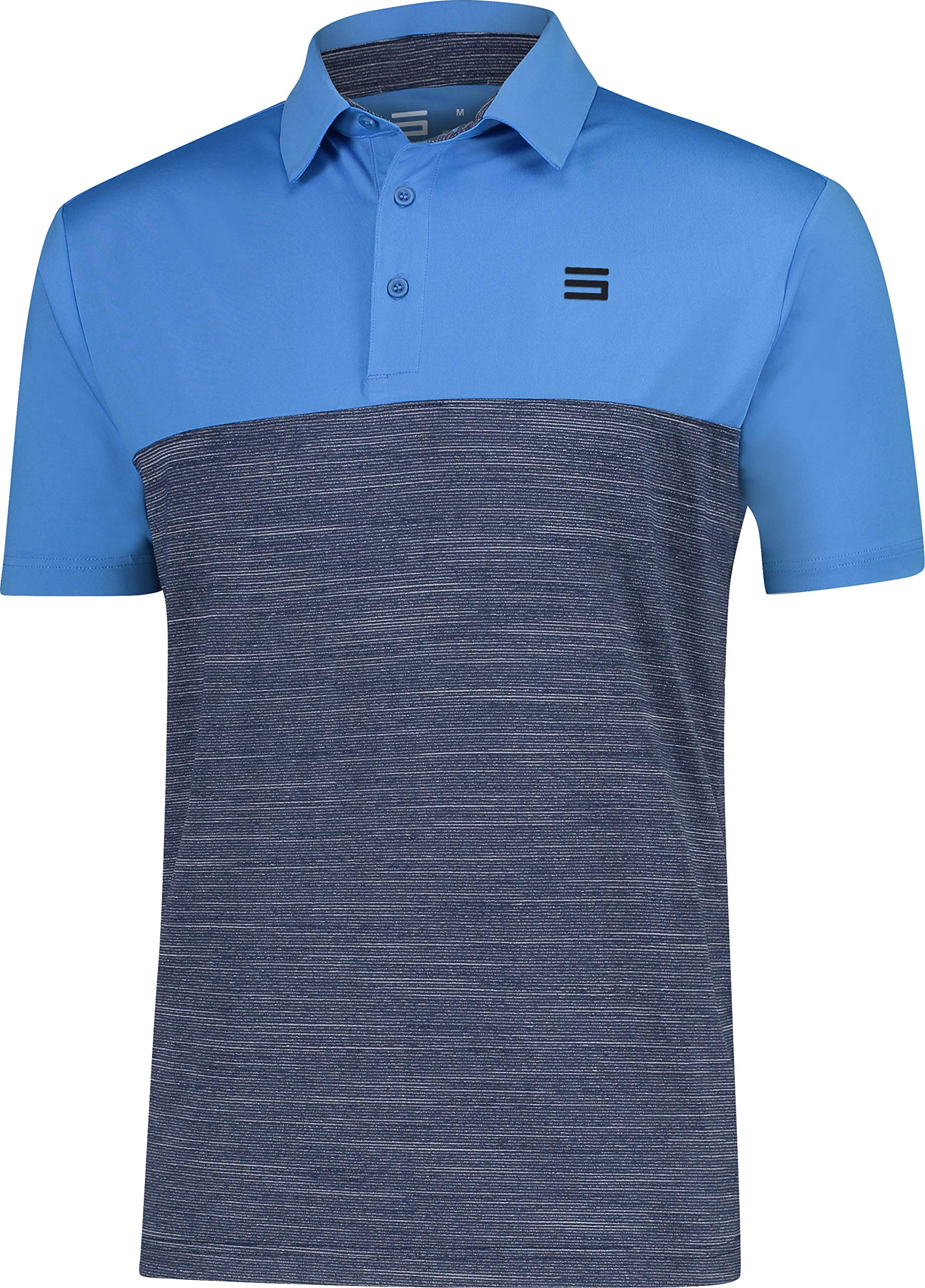 Three Sixty Six Dri-Fit Golf Shirts for Men - Moisture Wicking Short-Sleeve Polo Shirt by Three Sixty Six