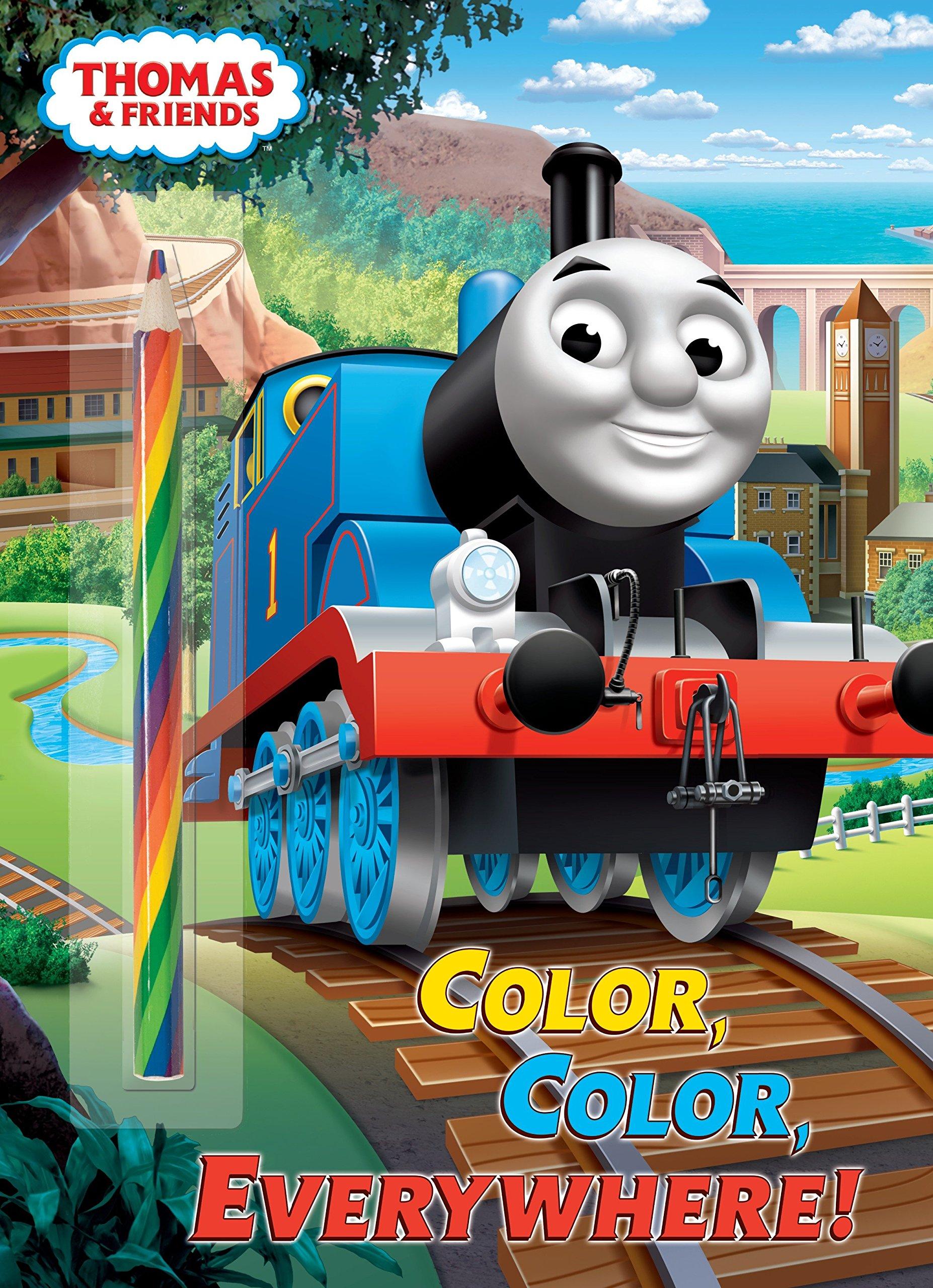 - Color, Color, Everywhere! (Thomas & Friends): Golden Books, Golden