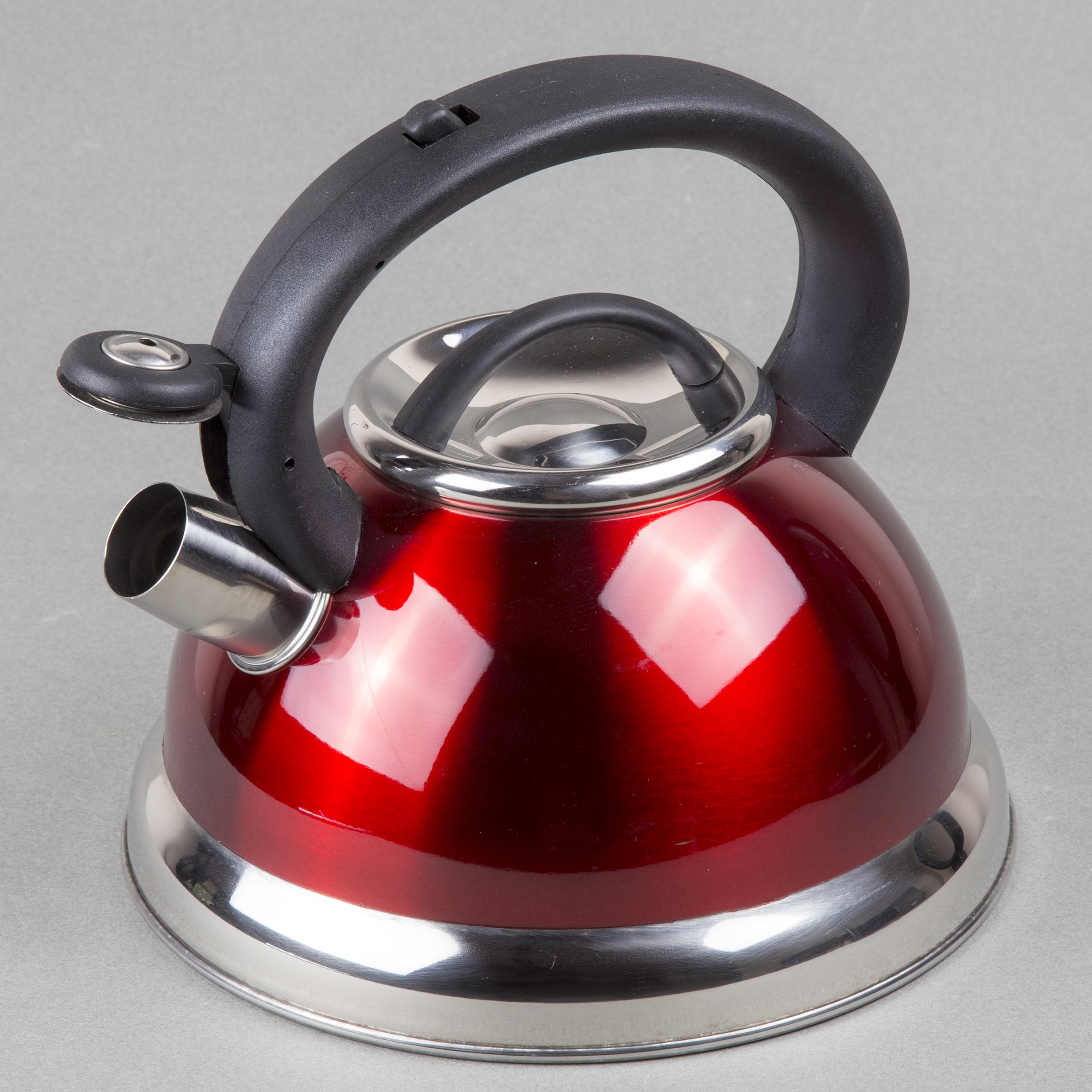 Creative Home Alexa 3.0 Whistling Tea Kettle, Cranberry by Creative Home (Image #2)