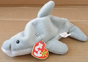 Image Unavailable. Image not available for. Color  TY Beanie Babies Flash  the Dolphin ... 6b1efd14cd5