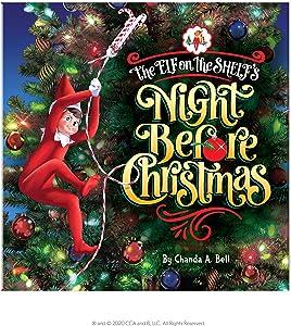 Elf on The Shelf Night Before Christmas Book