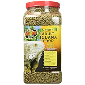 Zoo Med's All Natural Adult Iguana Food