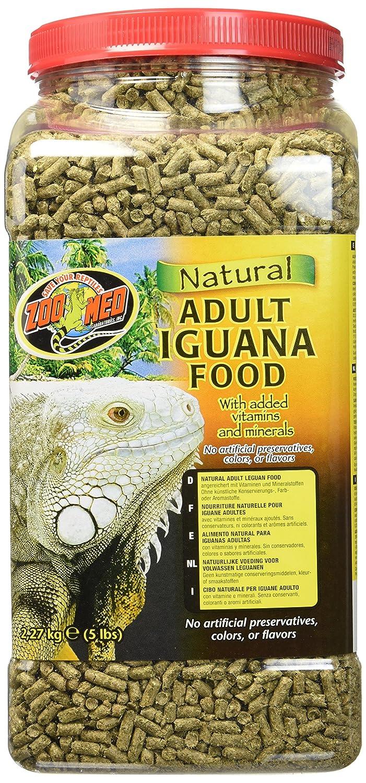 Amazon Zoo Med Natural Iguana Food Formula 5 Pound Adult Dry Pet Supplies