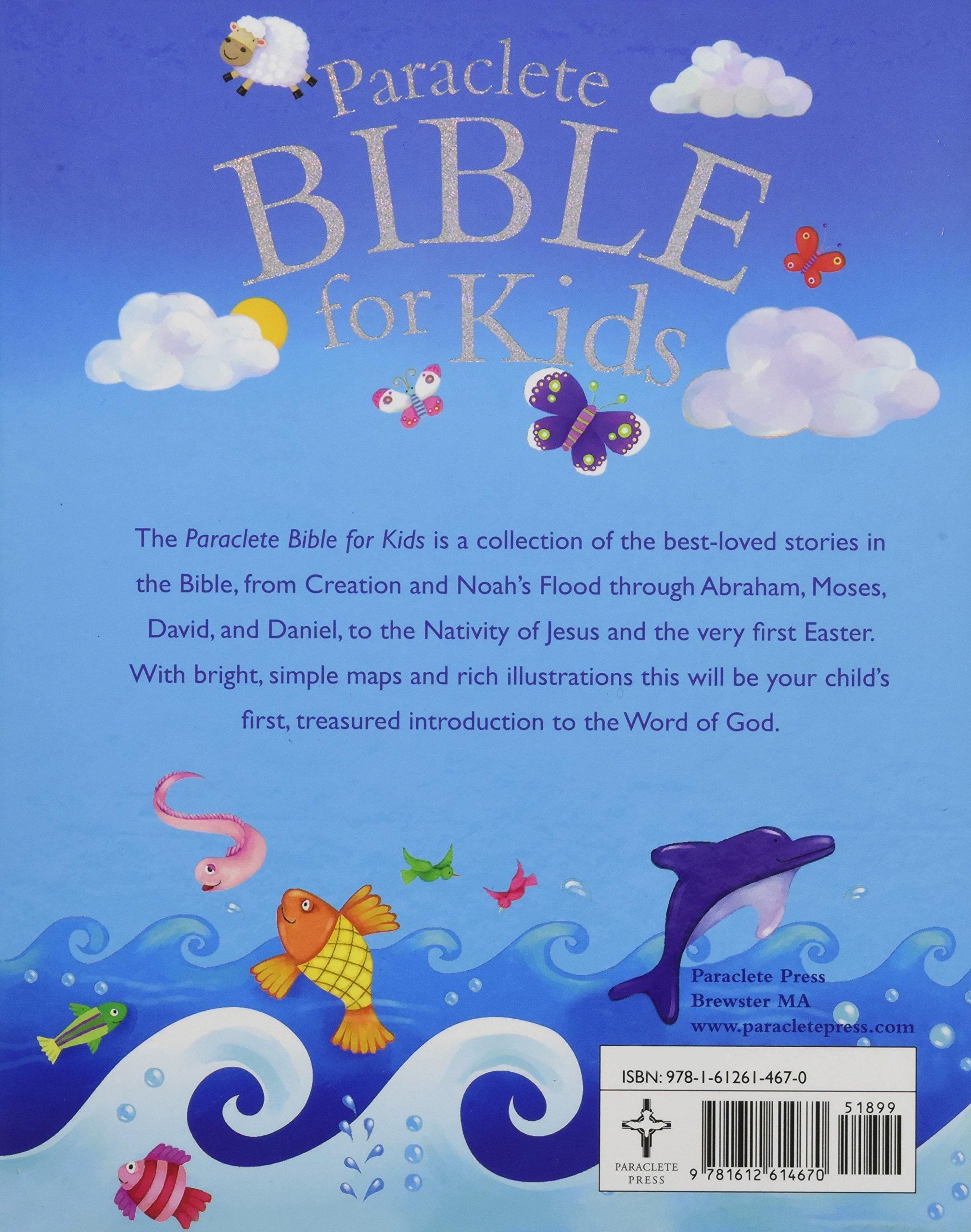 paraclete bible for kids juliet david jo parry 9781612614670