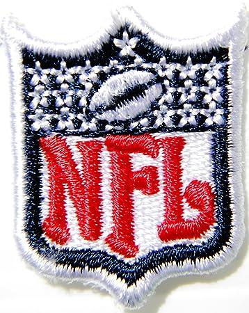 1 15 Mini Nfl Shield Football Logo Polo Shirt Jacket Patch Sew Iron