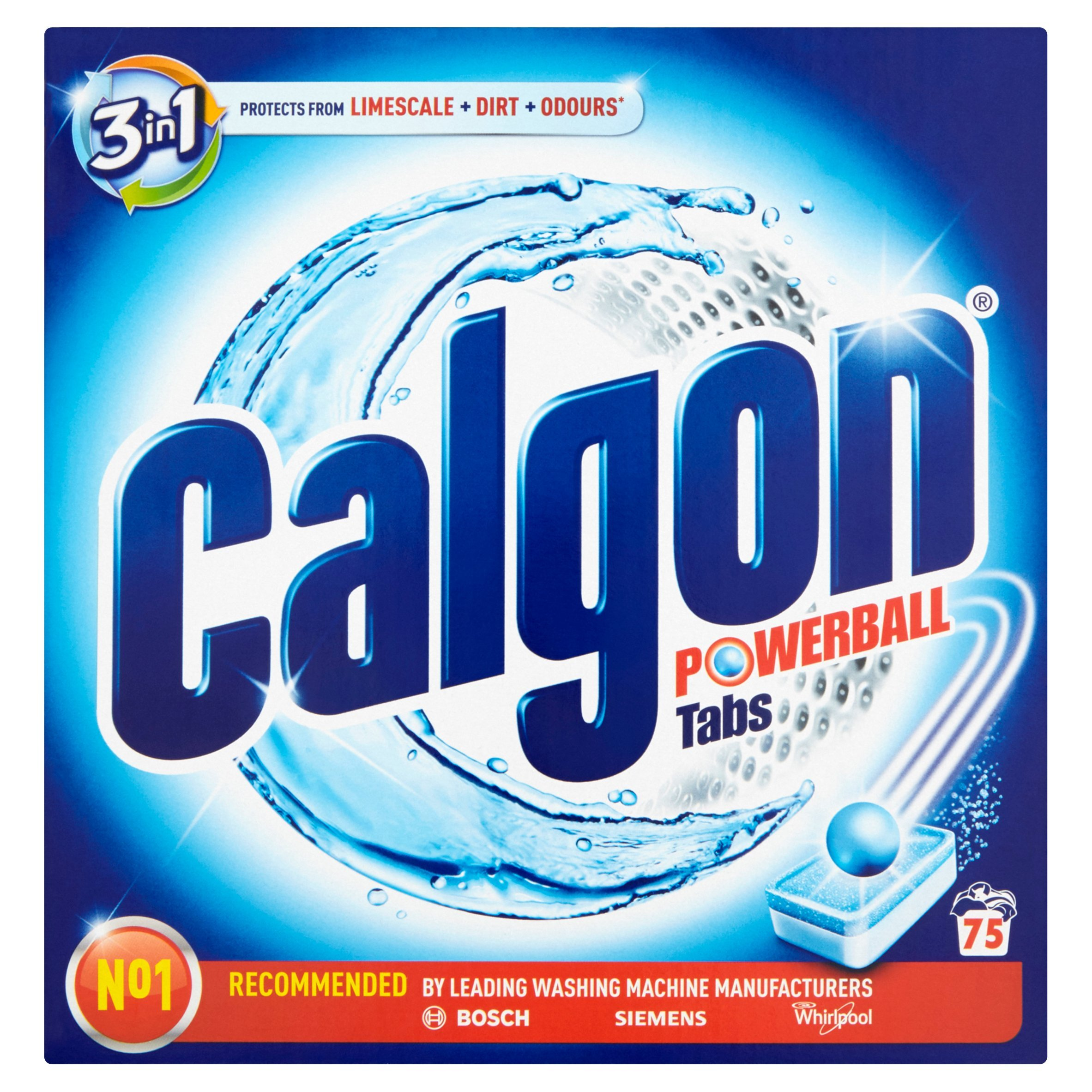 Calgon Tablets Pack of 75 by Calgon