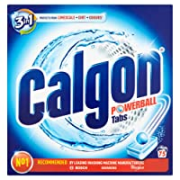Calgon Tablets 3-in-1 Water Softener, 75 Tablets
