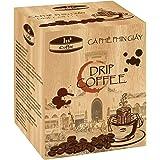 In Coffee - Drip Coffee - (Ca Phe Phin Giay) Medium Roast Premium Brand in Vietnam. 100% Pure Premium Arabica Ground Coffee Beans. 1 BOX = 10 PACKS. No Filter Needed, Just Add Water!!