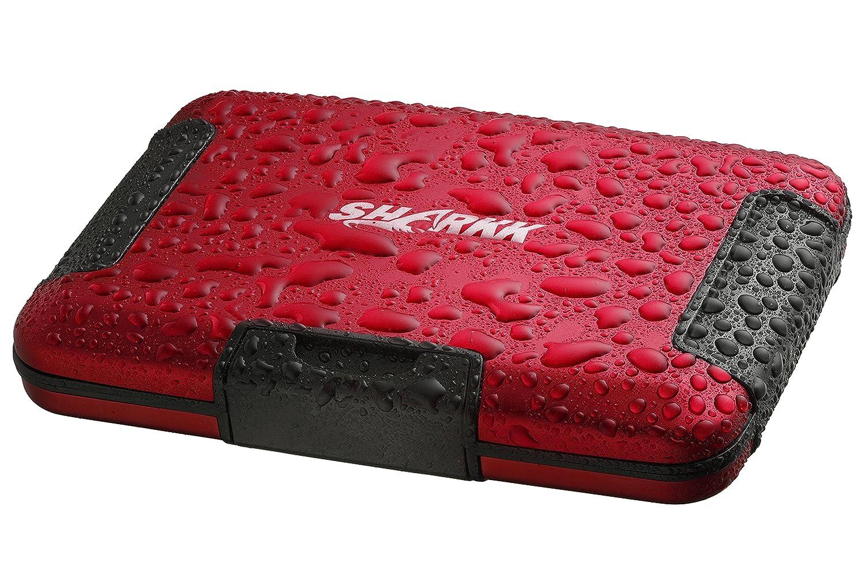 Sharkk RFID Protected Wallet Waterproof Wallet Card Holder: Amazon.es: Equipaje