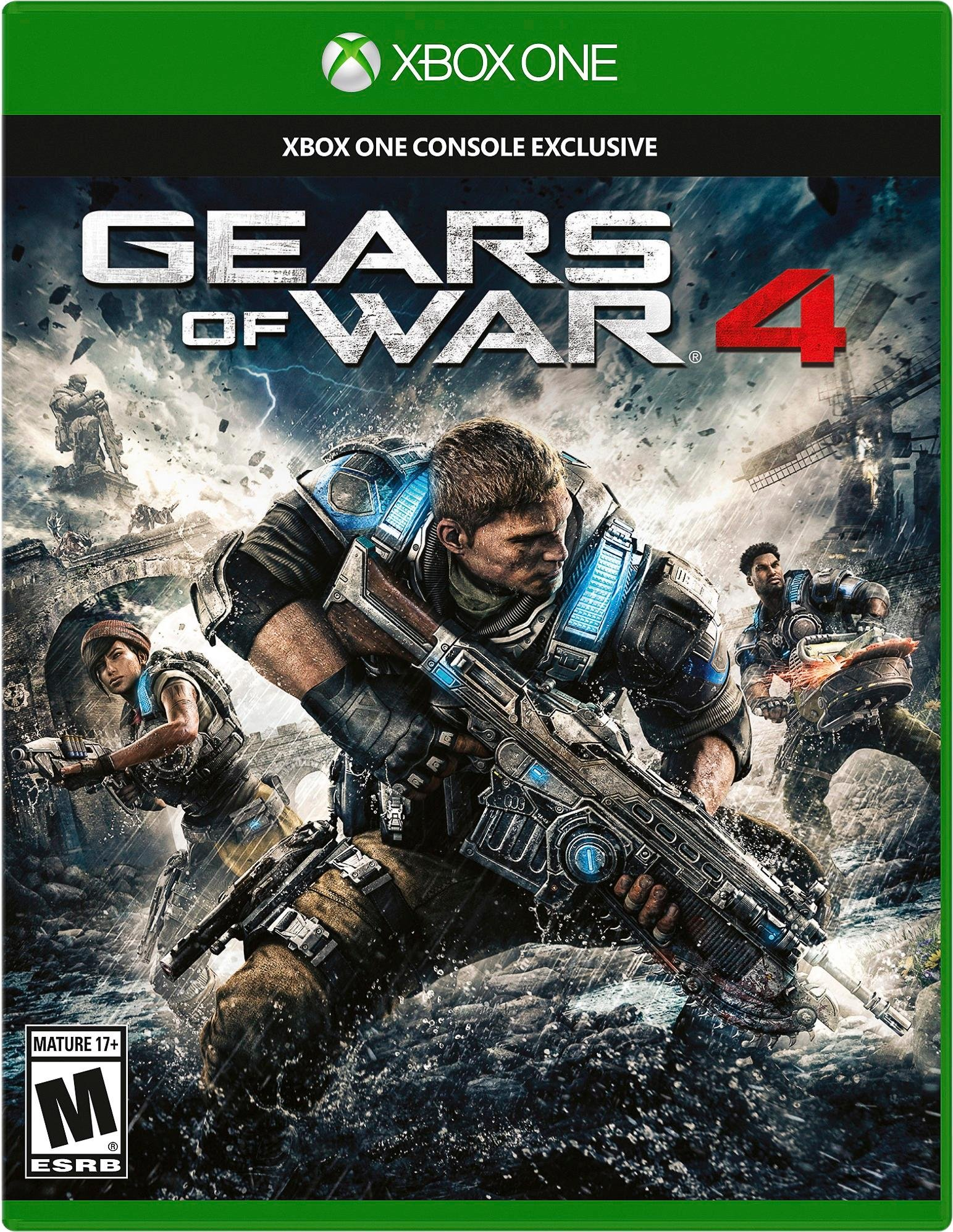 Gears of War 4 - Xbox One - Standard Edition product image