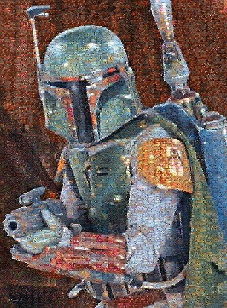 """Chewbacca /& Boba Fett 15/"""" Acrylic Display Case Star Wars Darth Vader IG-88"""