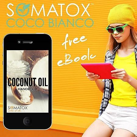 Amazon.com: Somatox Coco Bianco – Aceite de Coco Pulling Kit ...