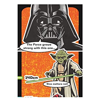 Amazon.com: Star Wars wallchart tarjeta de cumpleaños: Toys ...