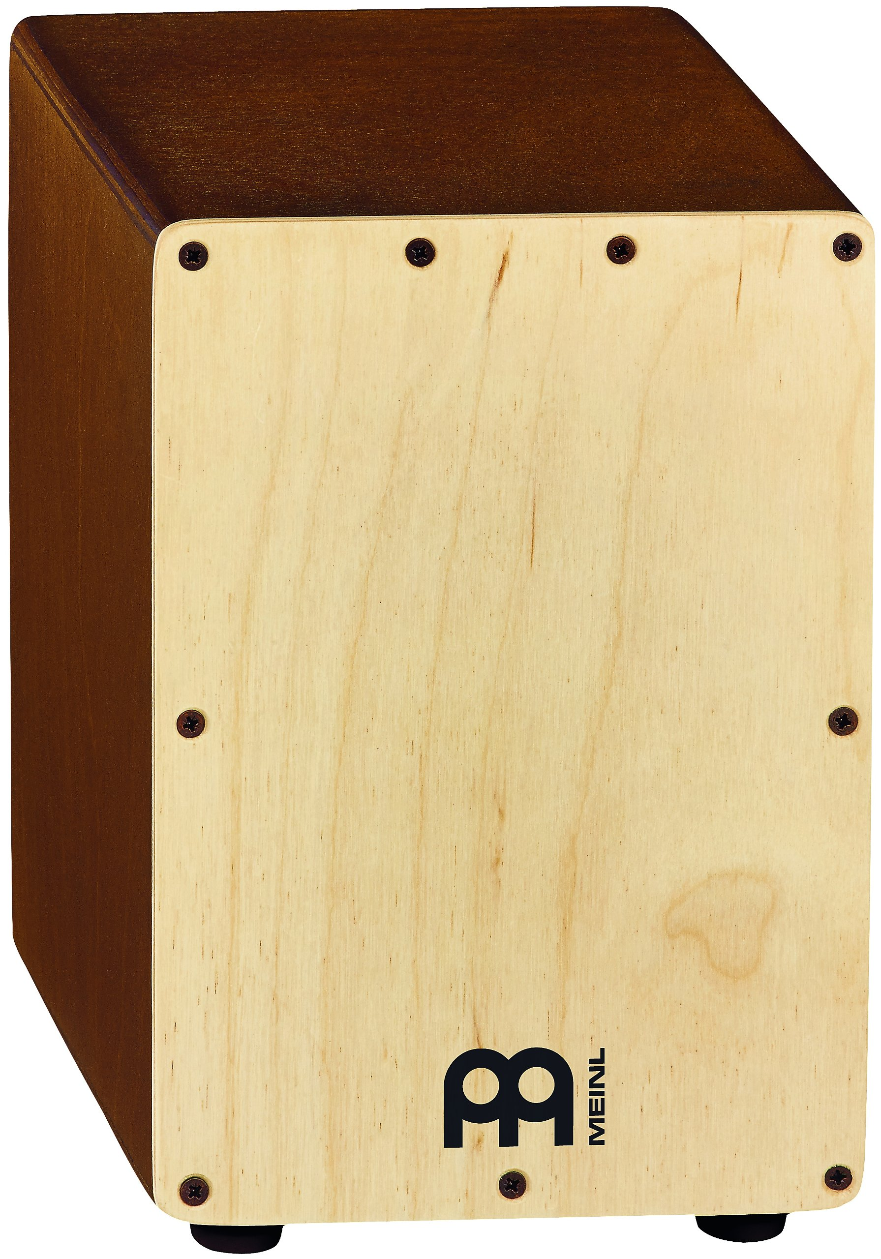 Meinl Percussion Mini Cajon Box Drum with Internal Snares - MADE IN EUROPE - Baltic Birch Wood, 2-YEAR WARRANTY, Natural (SCAJ1LB-NT) by Meinl Percussion
