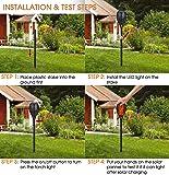 Solar Lights Outdoor, Basecamp Waterproof Solar