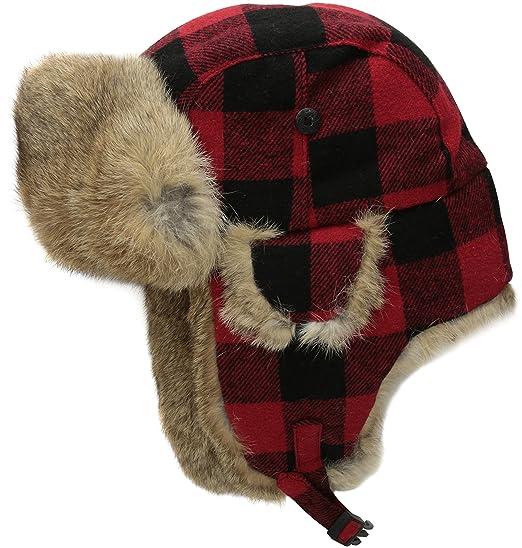 Woolrich Men s Wool Blend Wool Aviator Hat c1339b23ffd
