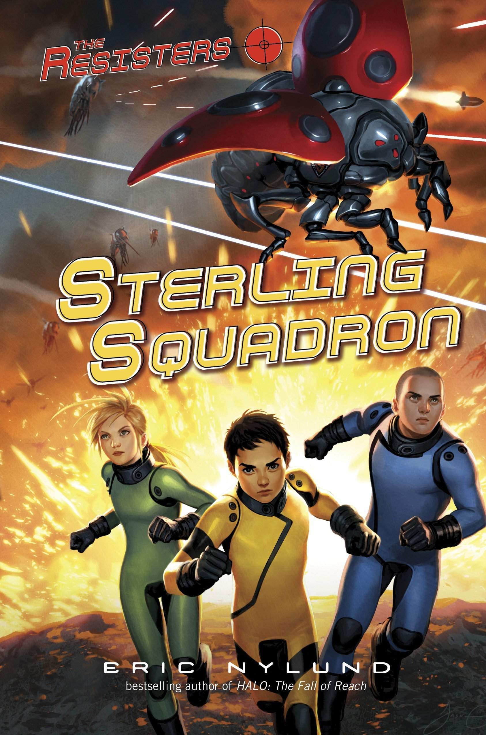 Read Online The Resisters #2: Sterling Squadron pdf