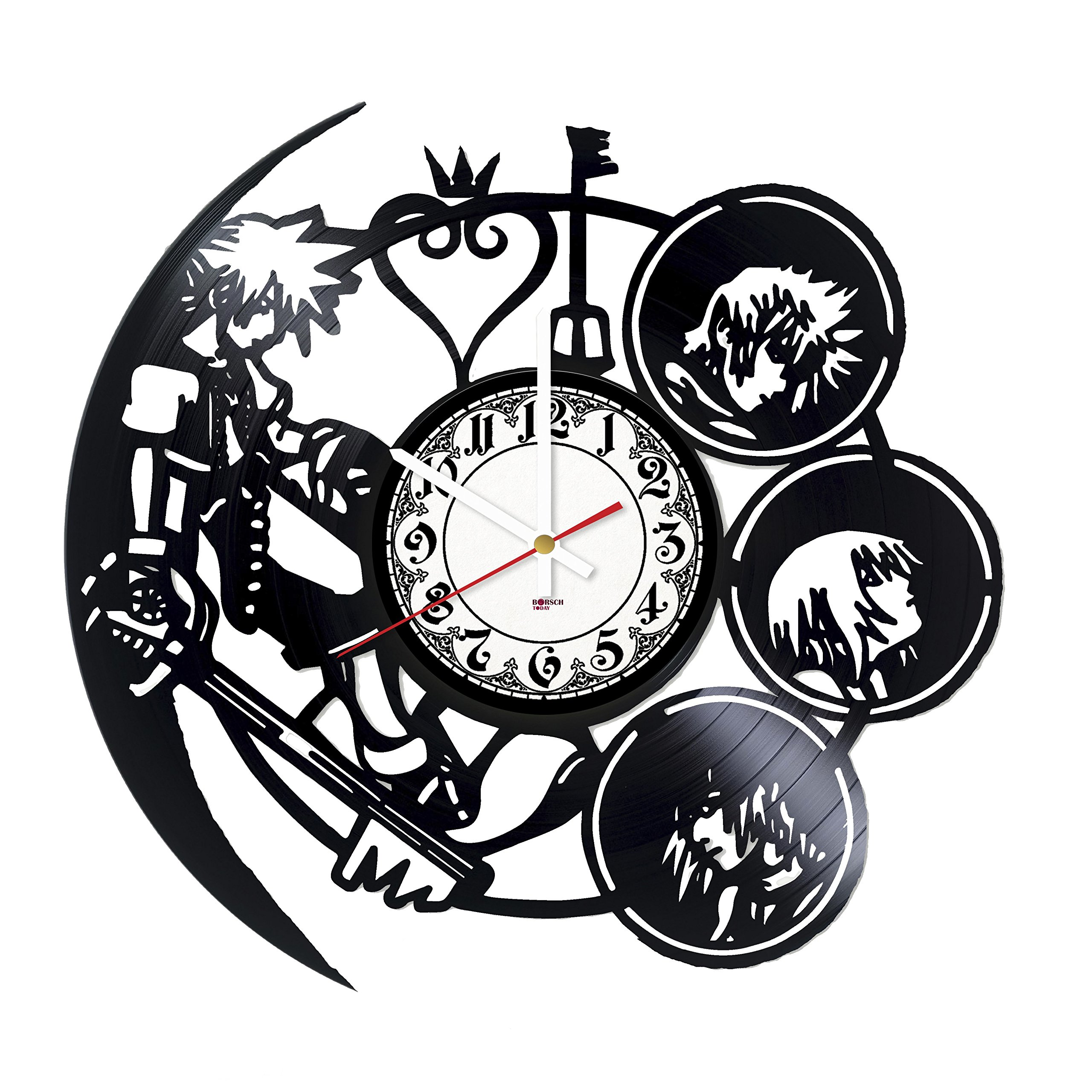 Strategy Game Vinyl Record Wall Clock - Get unique play room or living room wall decor - Gift ideas for children, siblings, teens – Video Game Unique Art Design