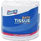 Genuine Joe GJO2540096 2-ply Standard Bath Tissue Rolls White, 96 rolls
