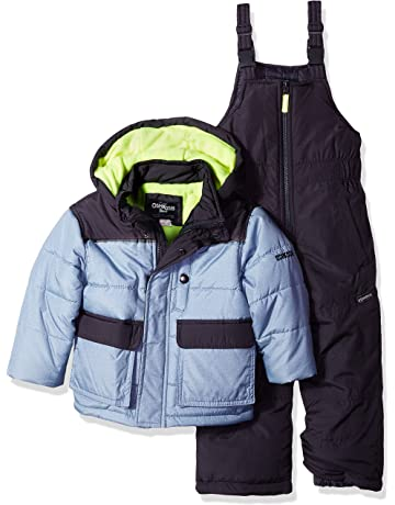 bae4794e5 OshKosh B'Gosh Boys' Ski Jacket and Snowbib Snowsuit Set. #1