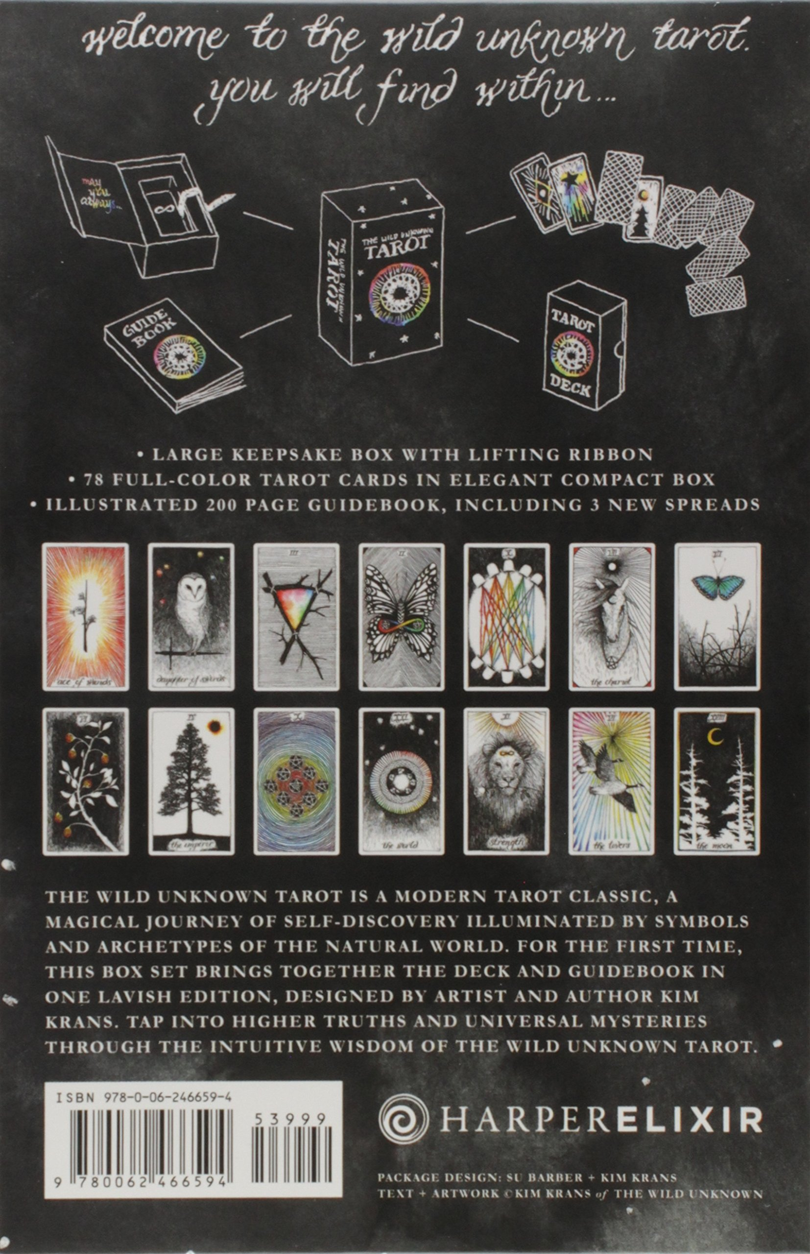 The Wild Unknown Tarot Deck And Guidebook: Amazon.es: Krans ...