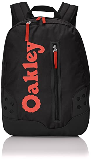 Oakley Mochila B1B Retro Pack Negro Negro/Rojo Talla:43.2 x 27.9 x 15.2 cm, 20 Liter: Amazon.es: Deportes y aire libre