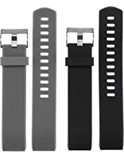 Hanlesi Fitbit Charge 2 Correa, Silicona Ajustable Bandas de Reemplazo Pulsera Deportiva para Fitbit Charge