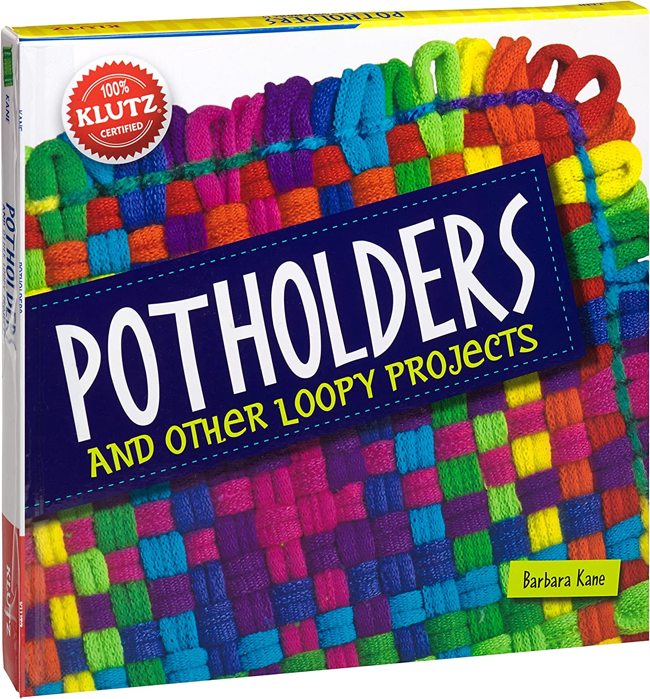 Handmade Loomed Potholder Set 2\u2013 Artisan Gift \u2013 Spring Summer Colorful Kitchen D\u00e9cor \u2013Thick Cotton Oven Mitts Trivet Hot Pads